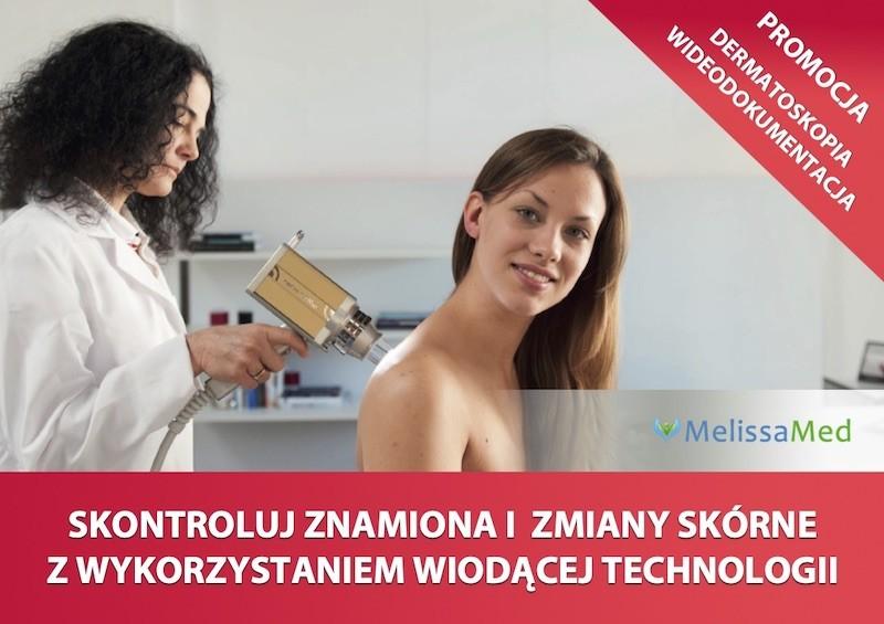 Poradnia MelissaMed - promocja wideodermatoskopia